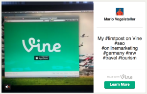Vine - Twitter startet Kurzvideo-Dienst